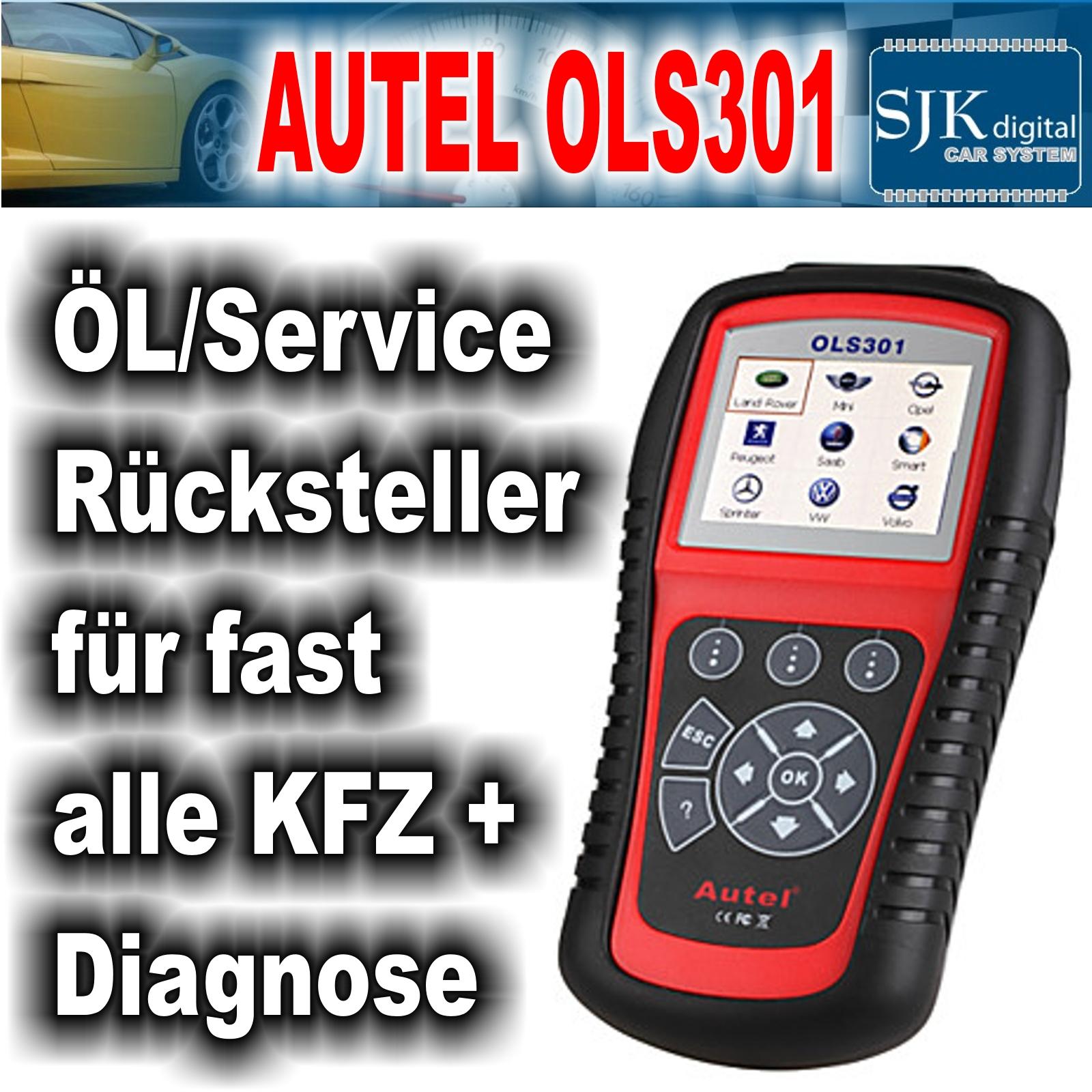 LAUNCH CR701 Öl /& Service Rücksteller für fast alle KFZ /& Diagnose